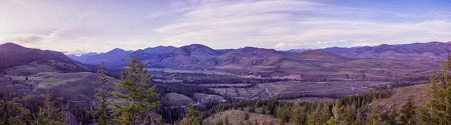 Methow River Valley via Sun Mtn Lodge by Omaste Witkowski