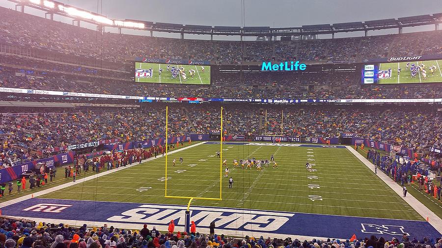 Metlife Stadium And New York Giant Photograph