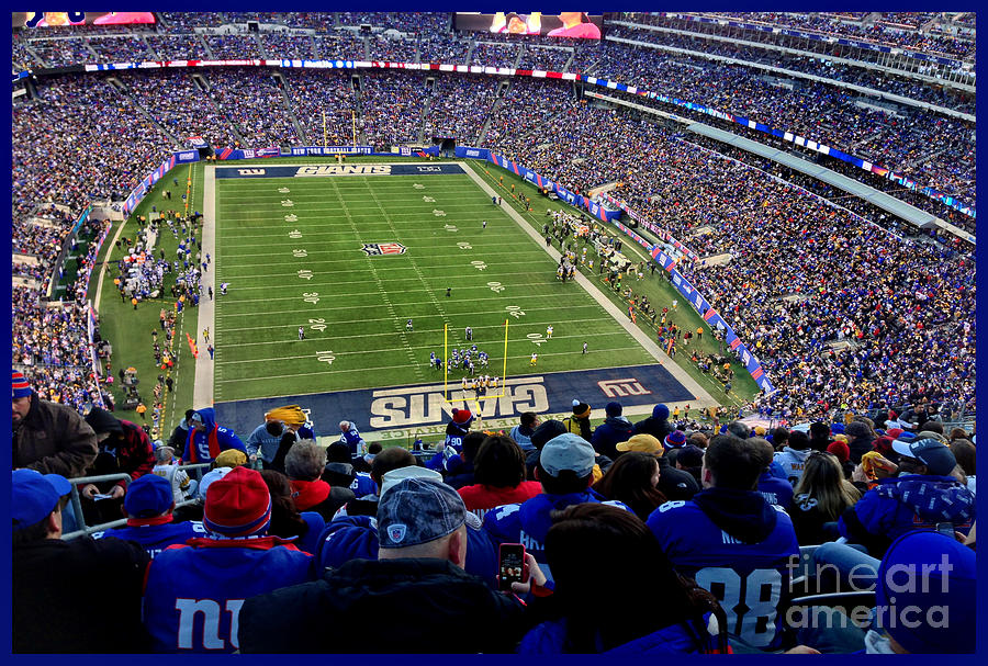 Meadowlands Photograph - Metlife Stadium by Gary Keesler