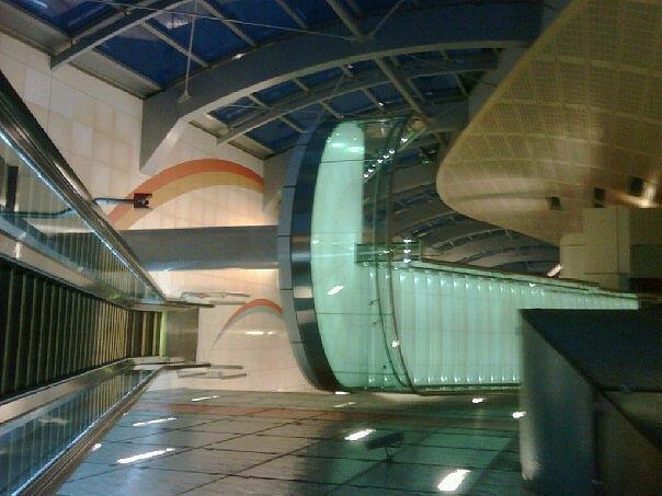 Dubai Photograph - Metro I by Sueraya Shaheen