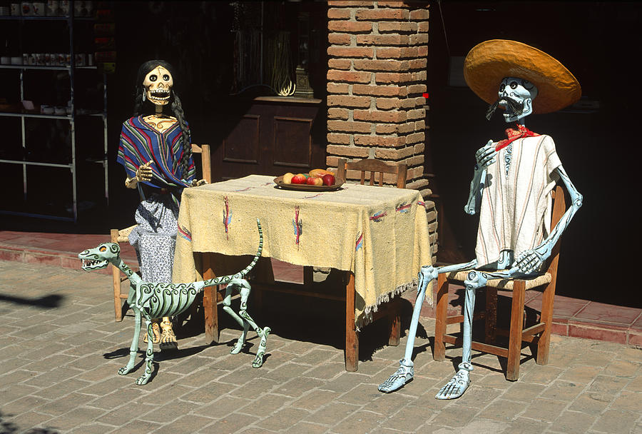Americas Photograph - Mexican Antique Family by Roderick Bley