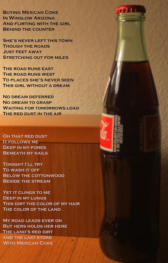 Mexican Coke Photograph - Mexican Coke by Joshua House