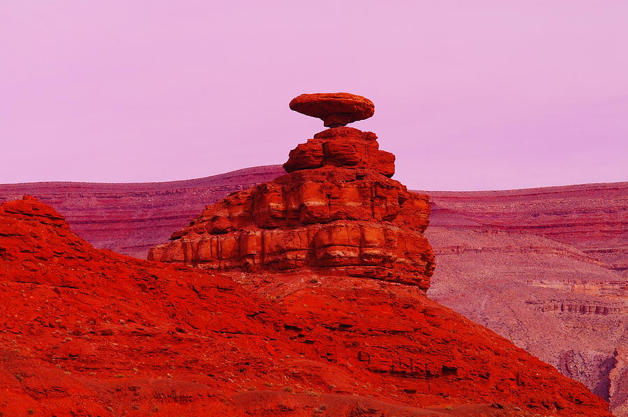 Utah Photograph - Mexican Hat  by Jeff Swan