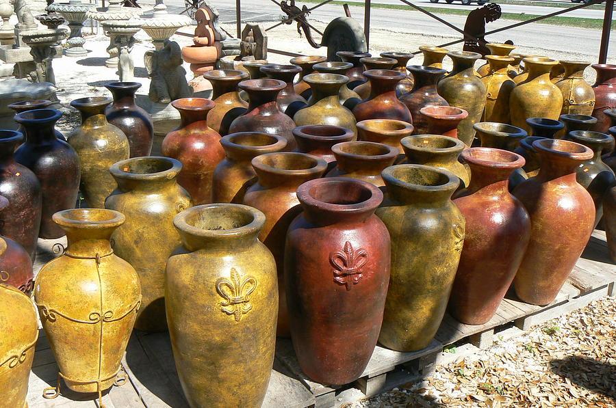 Pots Photograph - Mexican Pots I by Scott Alcorn