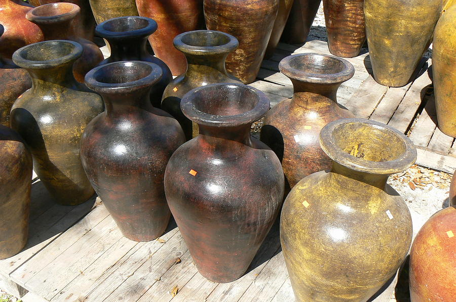 Pots Photograph - Mexican Pots II by Scott Alcorn