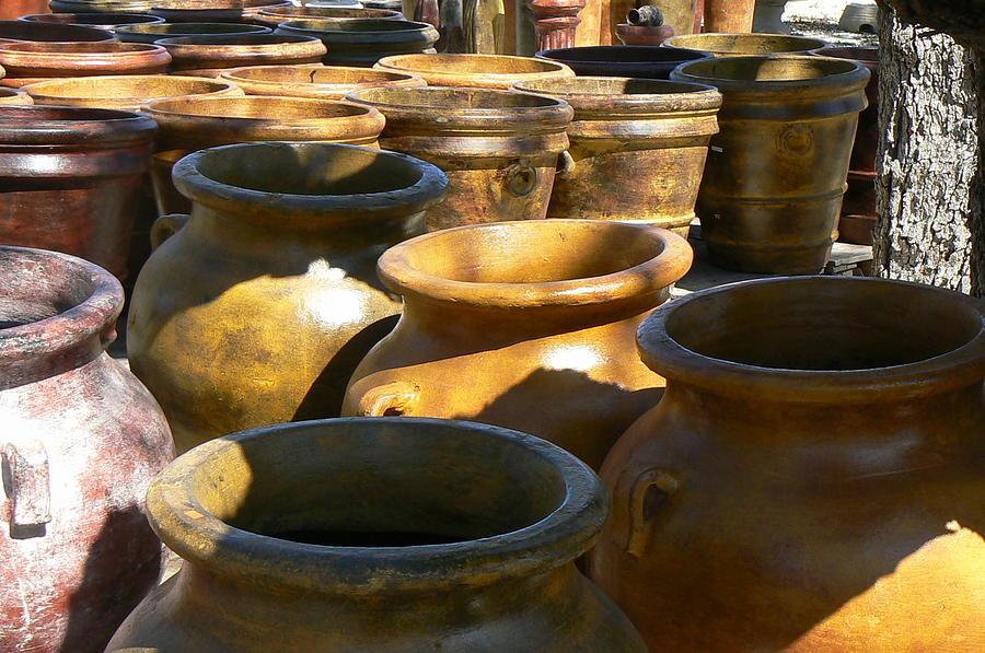 Pots Photograph - Mexican Pots IV by Scott Alcorn