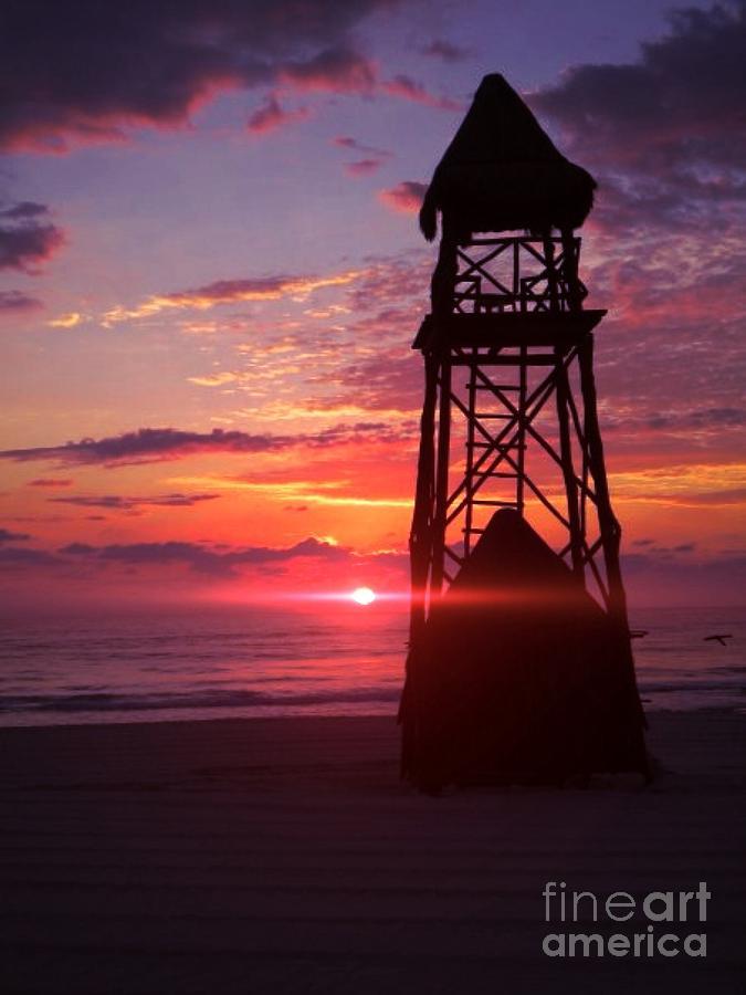 Beach Photograph - Mexican Sunset by Derek Conley