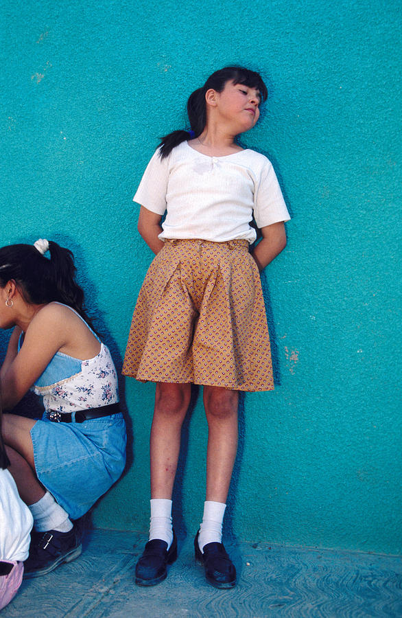 Mexican Teen Girls Photograph By Mark Goebel-1380
