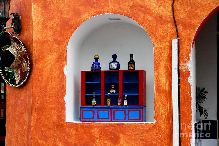 Architecture Photograph   Mexican Wall Niche By Thomas Marchessault