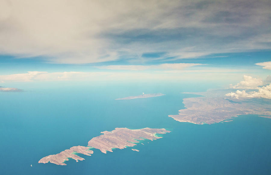 Mexico Baja From Air Photograph by Christopher Kimmel