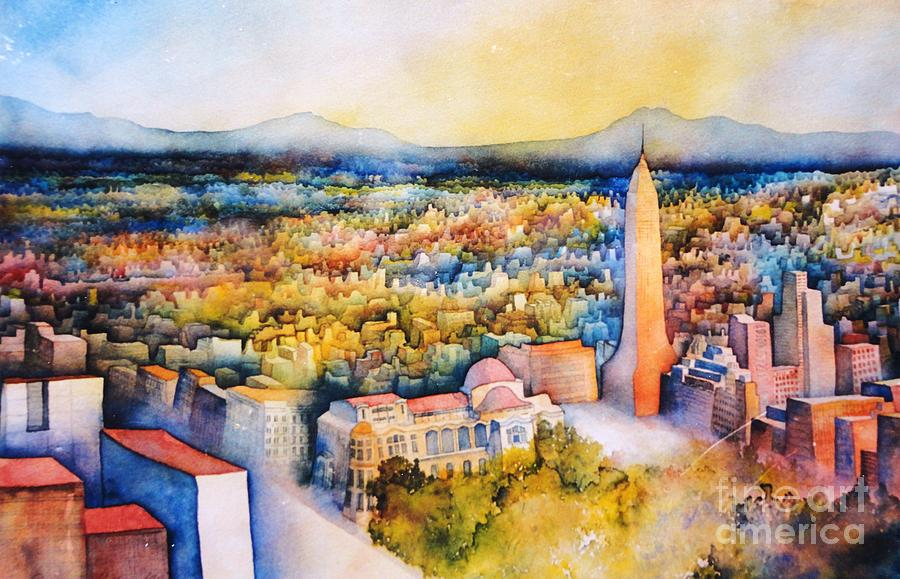Mexico-City the Endless Town by Dagmar Helbig