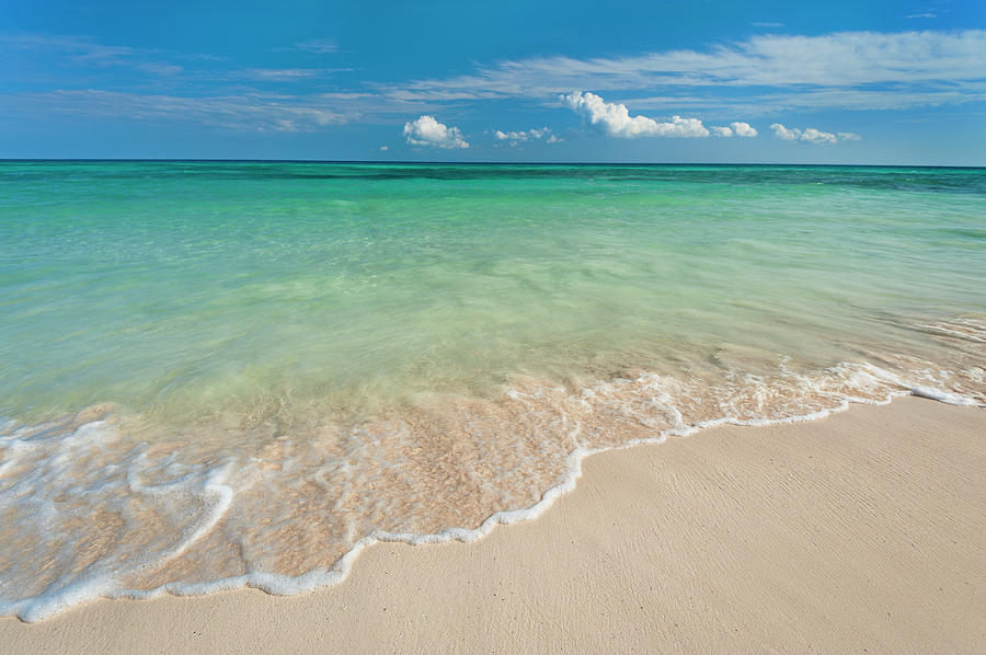Mexico, Yucatan, Sandy Beach And Photograph by Tetra Images