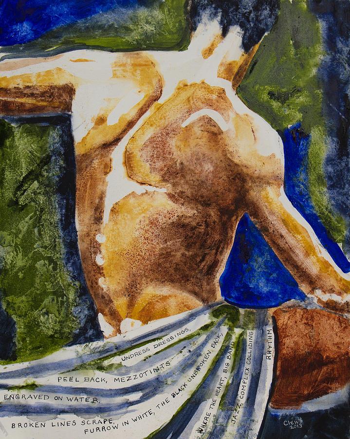 Figurative Painting - Mezzotints by Brenda Clews