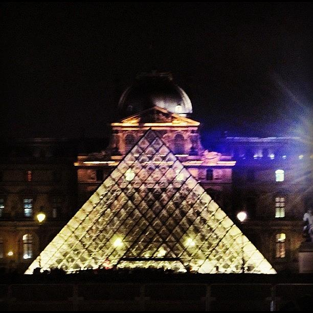 Europe Photograph - #mgmarts #louvre #paris #france #europe by Marianna Mills