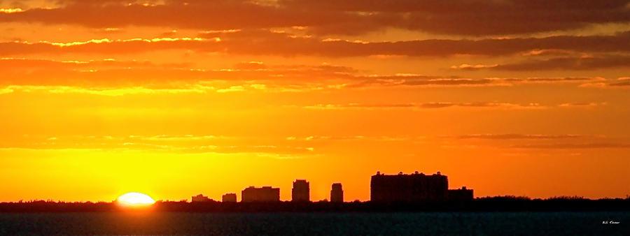 Miami at Sundown by Bibi Rojas