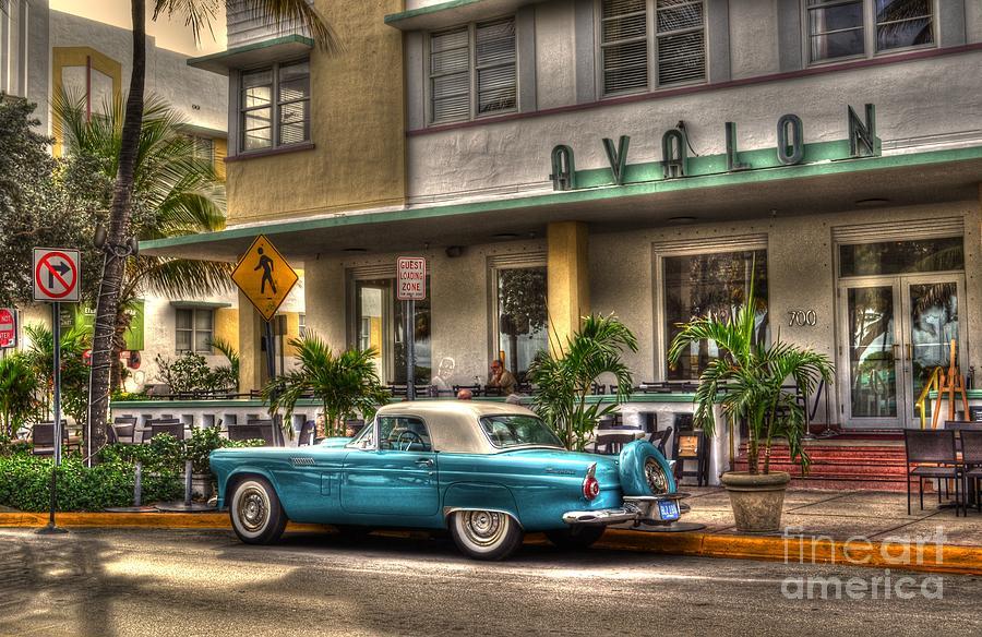 Miami Beach Photograph - Miami Beach Art Deco 1 by Timothy Lowry