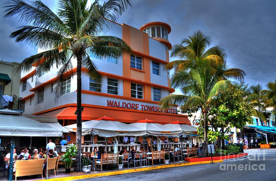 miami beach art deco 2 photograph by timothy lowry