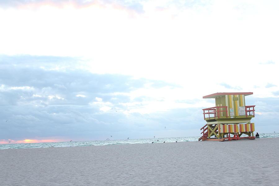 Miami Photograph - Miami Beach by Gary Dunkel