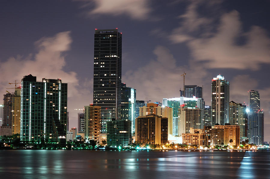 Miami Brickell Growing Photograph by Jfmdesign