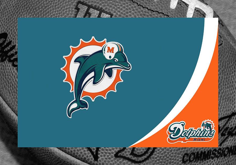 Dolphins Photograph - Miami Dolphins by Joe Hamilton