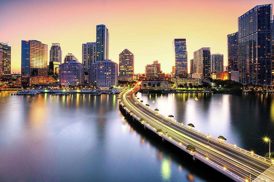 Miami Photograph by Eddie Lluisma
