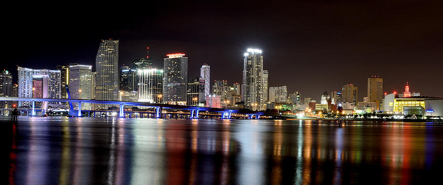 Miami Photograph - Miami - Florida  by Brendan Reals