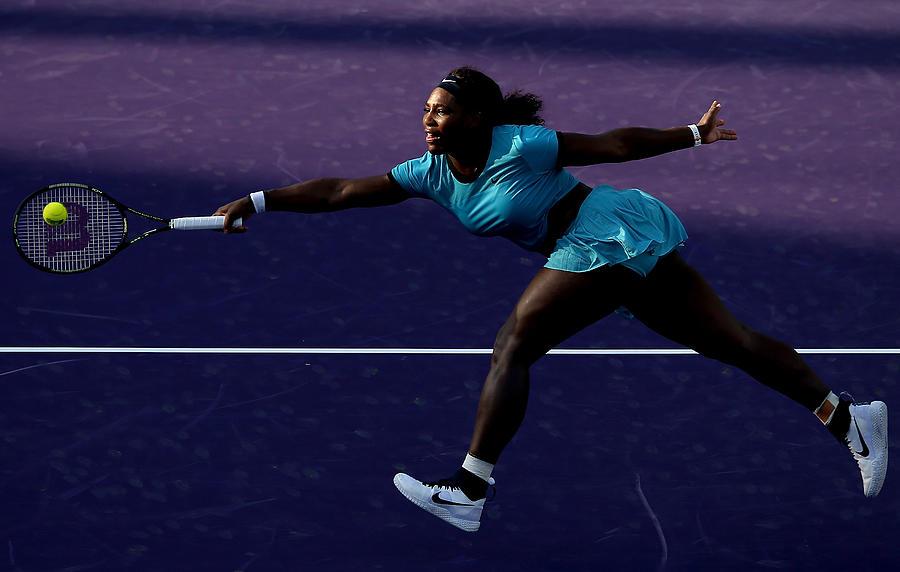 Miami Open - Day 6 Photograph by Matthew Stockman