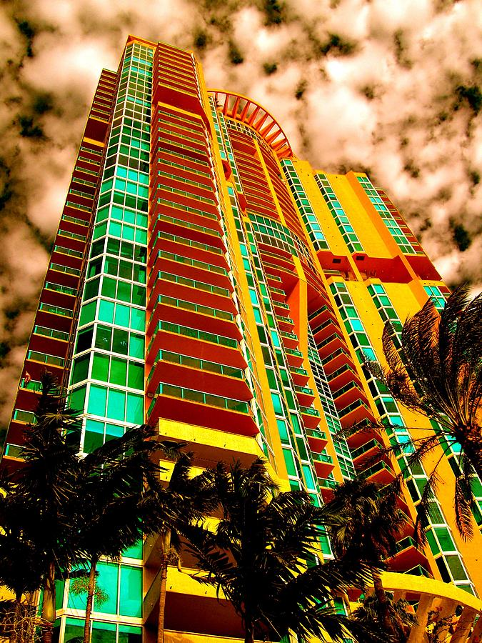Palm Trees Photograph - Miami South Pointe II by Moniques Fine Art