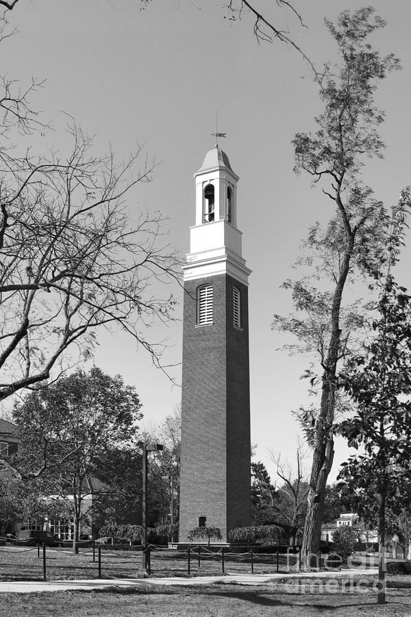 Miami University Photograph - Miami University Beta Bell Tower by University Icons