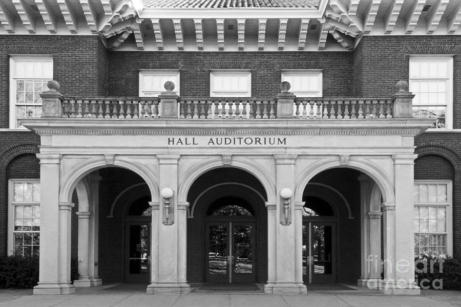 Miami University Photograph - Miami University Hall Auditorium by University Icons