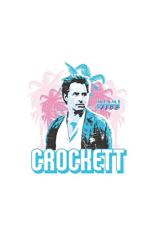 Miami Vice Digital Art - Miami Vice - Crockett by Brand A