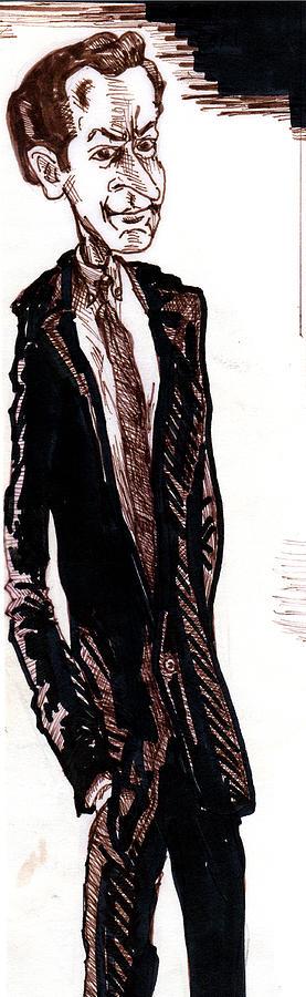 Michael Crichton Drawing