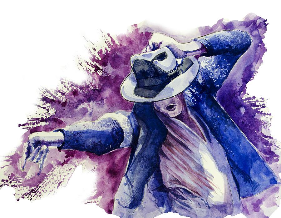 Michael Jackson 10 Painting By Bekim Art
