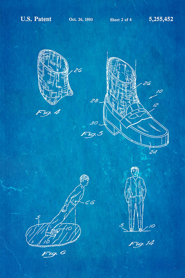 Michael Jackson Anti Gravity Boot Patent Art