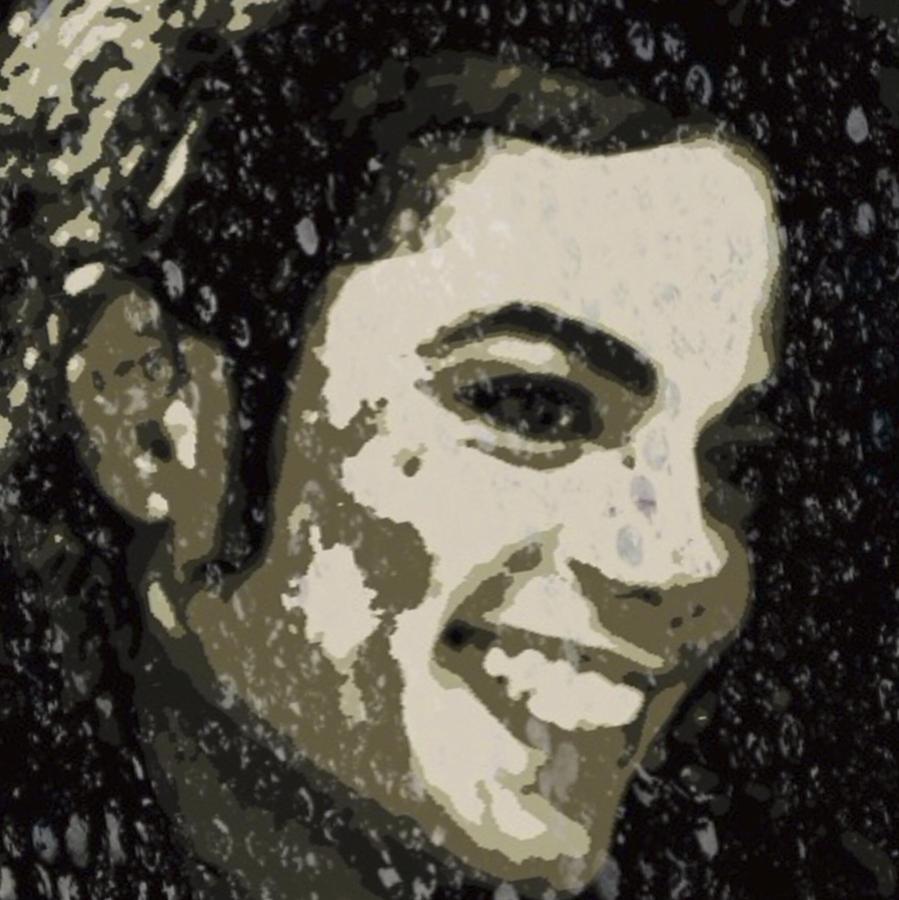 Michael Digital Art - Michael Jackson Concert 3 by Yury Malkov