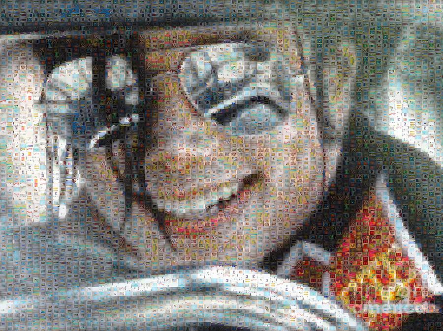 Michael Digital Art - Michael Jackson - Mosaic by Paulette B Wright