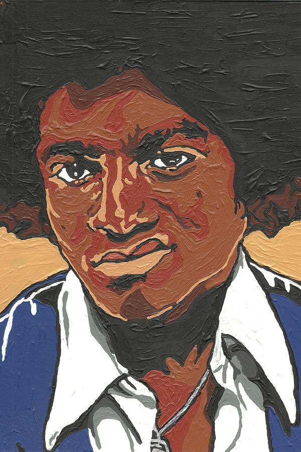 Michael Jackson Painting - Michael Jackson by Rachel Natalie Rawlins