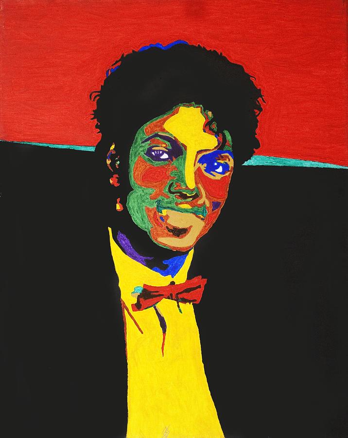 Michael Jackson Painting - Michael Jackson by Stormm Bradshaw