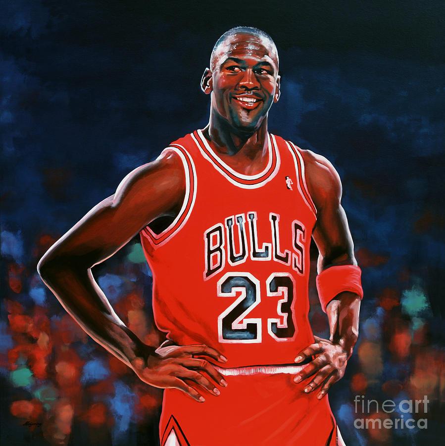 Michael Jordan Painting - Michael Jordan by Paul Meijering