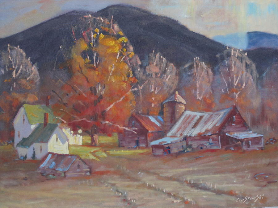 Michalskis In Autumn Colors Painting by Len Stomski