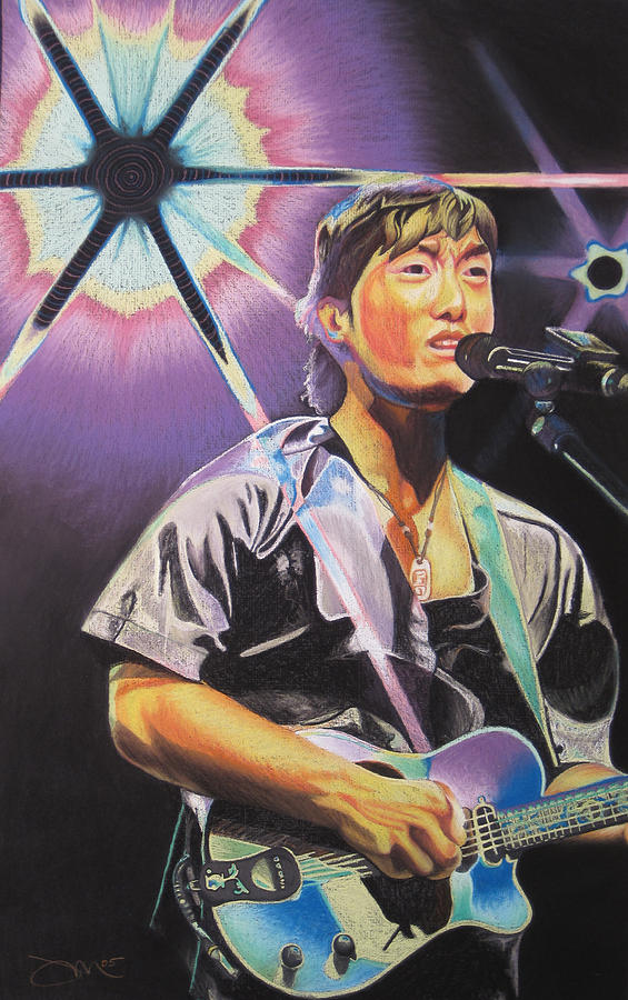 Michael Kang Drawing - Micheal Kang by Joshua Morton
