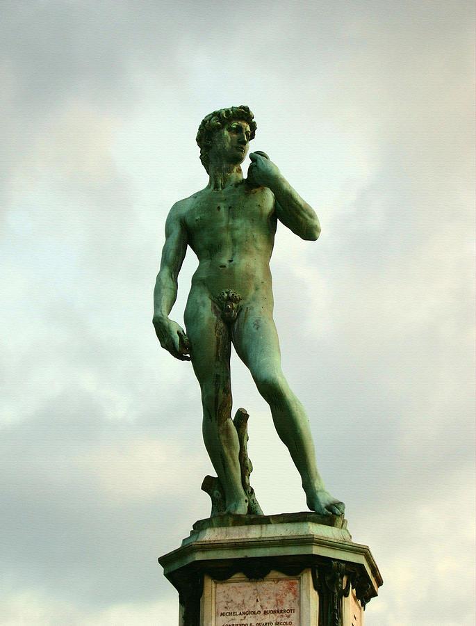 Michelangelos David Photograph - Michelangelos David 2 by Ellen Henneke