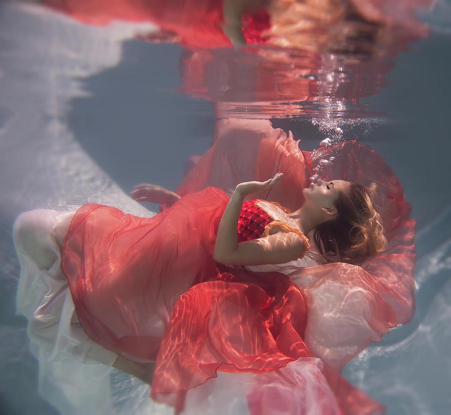 Underwater Photograph - Michelle by Gabriela Slegrova