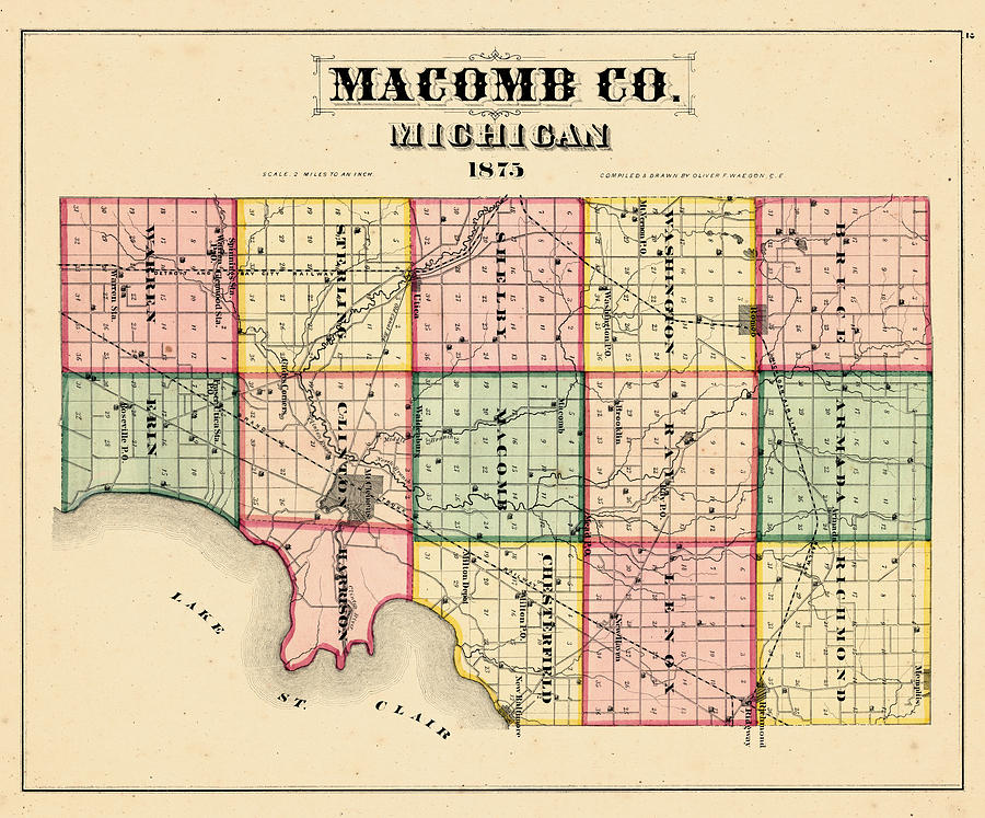 Michigan, 1875, Macomb County by Historic Map Works LLC on royal oak, sterling heights, michigan map, oakland county, marlette map, trenton county map, st. clair county, rockford county map, downtown mt clemens map, central oklahoma county map, oklahoma county county map, ypsilanti county map, monticello county map, oakland county map, mackinac county, kent county, port huron, wayne county map, lapeer county map, maricopa county, chillicothe county map, washtenaw county, detroit area map, leelanau county, early county map, joliet county map, washtenaw county map, livingston county, monroe county, wayne county, grand rapids county map, red wing county map, metro detroit, livingston county map, mount clemens, garden city,