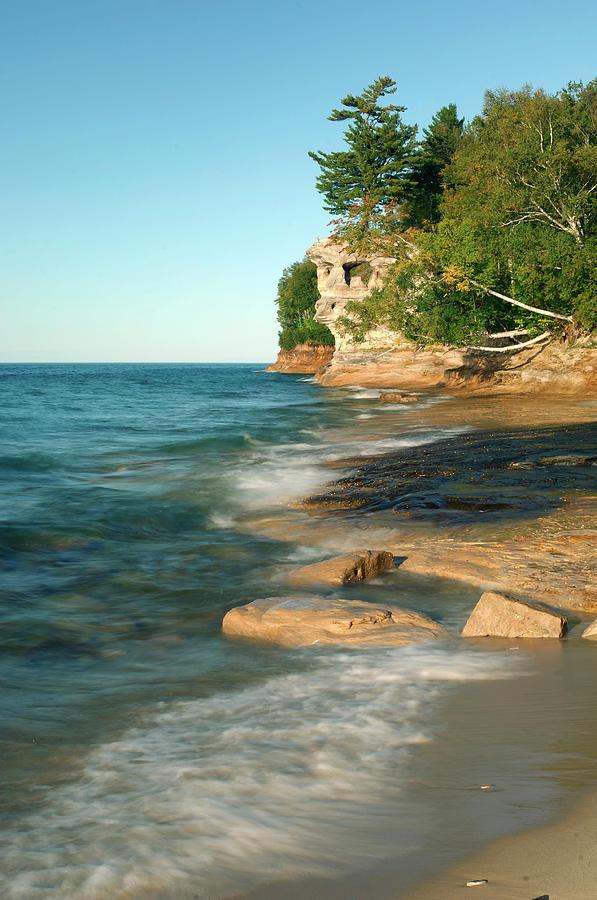 Beach Photograph - Michigan by Christian Heeb