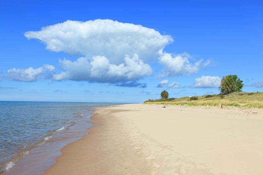 Michigan Lake Shore Photograph by Espiegle