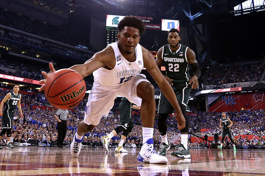 Michigan State V Duke Photograph by Streeter Lecka