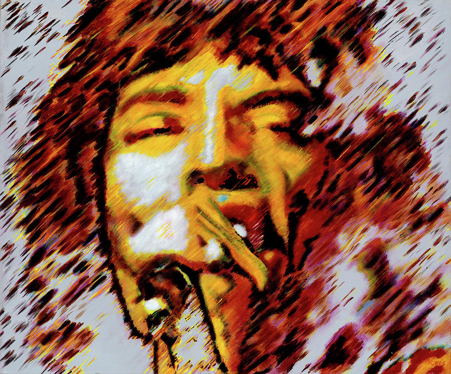 Mick Jagger Painting - Mick Jagger by Barry Novis