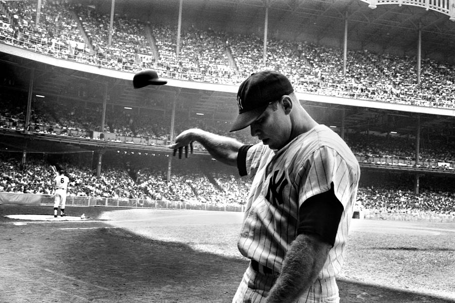 Mickey Photograph - Mickey Mantle by Gianfranco Weiss