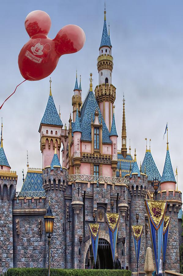 Mickey Mouse Balloon At Disneyland Photograph by Thomas ...